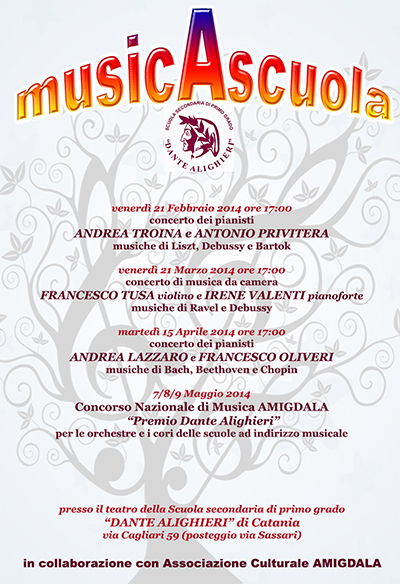 400 locandina musicAscuola
